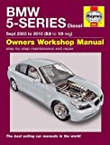 Martynn Randall BMW 5-Series Diesel Service and Repair Manual: 2003 to 2010 (Haynes Service and Repair Manuals)
