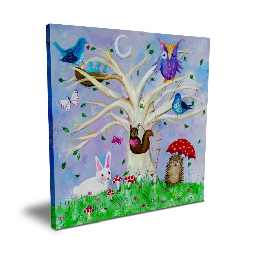 "Cici Art Factory 16""x 16"" Woodland Wonderland, Canvas"