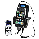 8-in-1 Black FM Transmitter Car Kit with Remote and Car Adapter for Ipod 3rd, 4th, 5th Generation, Mini, Photo, U2, Nano 2nd + 3rd Gen, Video, Classic, Touch