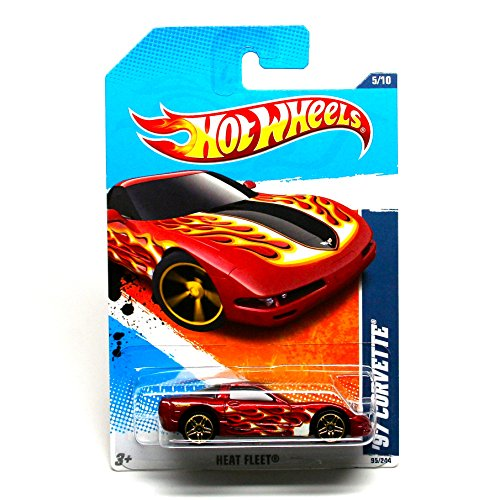 2011 Hot Wheels 95/244 - Heat Fleet 5/10 - '97 Corvette