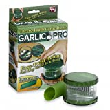 EFashion No-Touch Garlic & Nuts Dicer Garlic Pro& Free E-Z Peeler Slicer Mincer No Tears