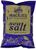Mackie's of Scotland Sea Salt Potato Crisps 40 g (Pack of 24)