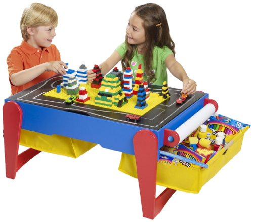 Cra Z Art 6 In 1 Wooden Children'S Activity Play Table