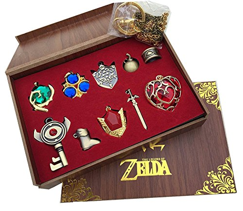 Legend of Zelda Keychain & Necklace Collection