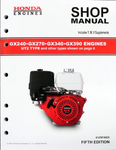 honda gx gx gx gx ut engine service repair shop manual toolfanaticcom