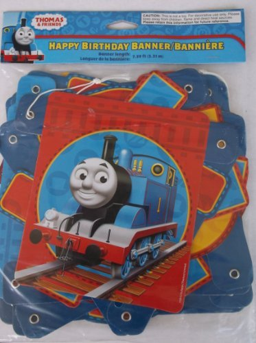 Thomas the Train Happy Birthday Banner 7.59 Ft