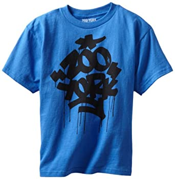 Zoo York Boys 8-20 Fat And Juicy Tee, Blue, Medium