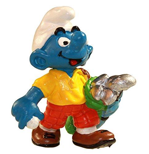 Schlelich - The Smurfs - 1998 - Golfer Smurf (Golgerschlumpf) - 1
