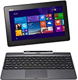 Asus T100TAM-BING-DK013B 25,7 cm (10,1 Zoll) Convertible Tablet-PC (Intel Core 2 Quad Atom Z3775, 1,4GHz, 2GB RAM, 32GB HDD + 500 GB HDD, Intel HD, Win 8, Touchscreen) grau