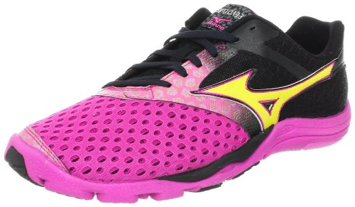 Mizuno Women'S Wave Evo Cursoris Running Shoe,Electric/Blazing Yellow/Anthracite,7 B Us