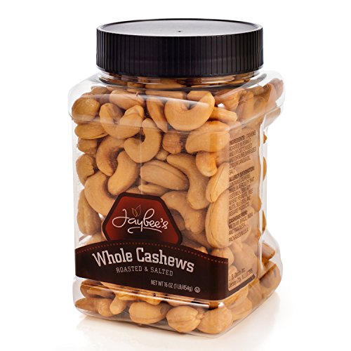 Jaybees-Extra-Large-Whole-Cashews-16-oz-Roasted-And-Salted-Great-for-Gift-Giving-or-As-Everyday-Snack-Reusable-Container-Certified-Kosher