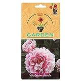 Balsam top knot Rose Flower Seeds by Gate garden