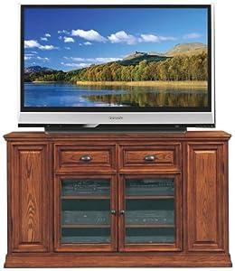 "Leick Furniture Boulder Creek 62"" TV Stand, Medium Oak"