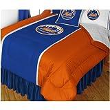 MLB New York Mets - Sports Comforter Set-Queen Boys Hockey Bedding