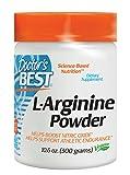 Doctor's Best L-Arginine Powder, Vegan, 300g by Doctor's Best