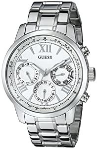 Amazon.com: GUESS Women's U0330L3 Stainless Steel Watch: Guess