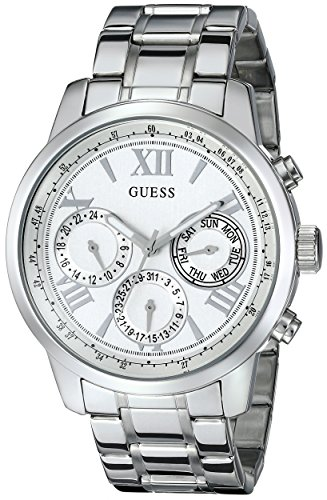 guess-womens-u0330l3-sporty-silver-tone-stainless-steel-watch-with-multi-function-dial-and-pilot-buc