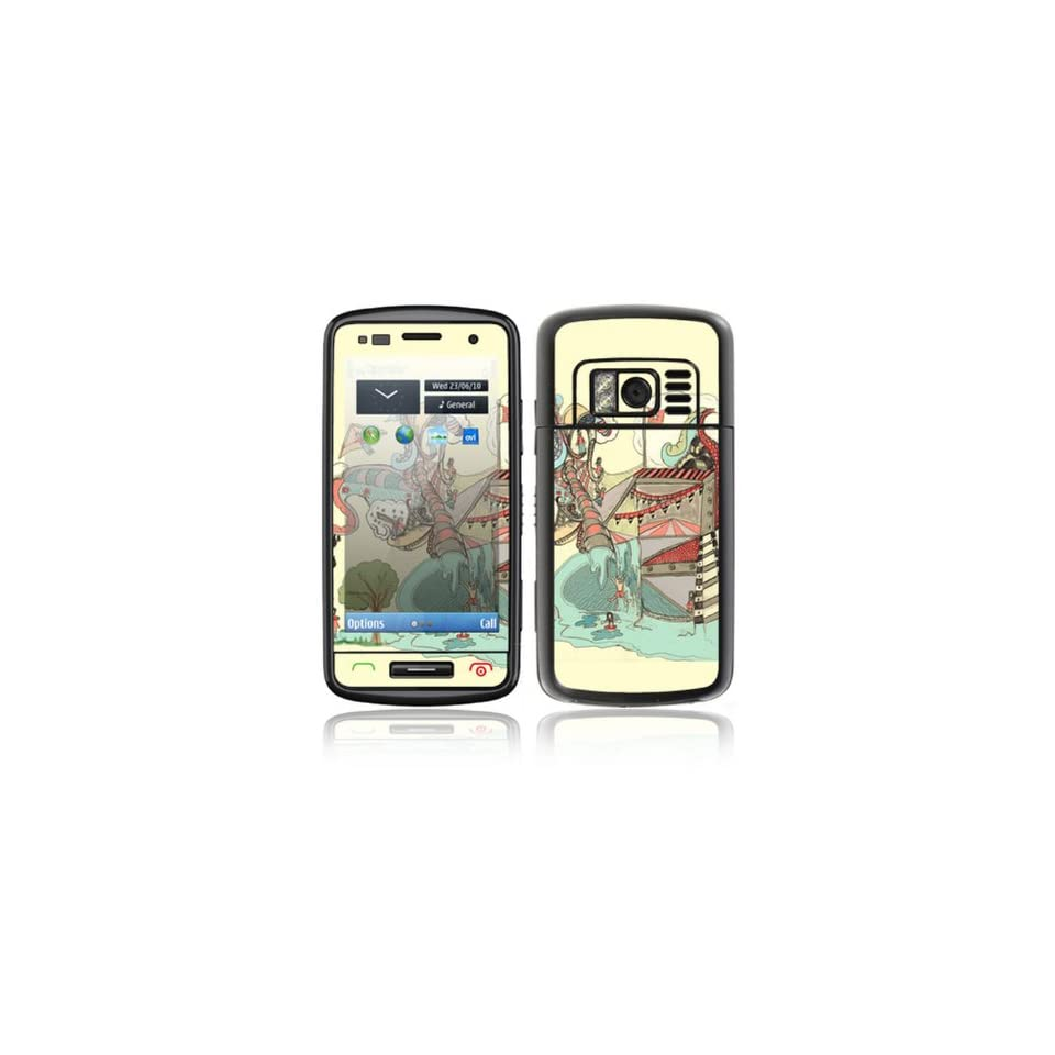 Dollie Dream House Design Decorative Skin Cover Decal Sticker for Nokia C6 01 Cell Phone