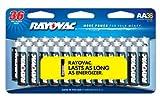 Rayovac Alkaline AA Batteries, 36-Pack