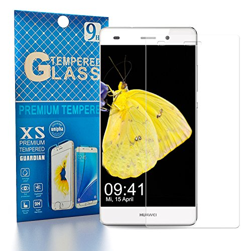 Huawei P8Lite Tempered Glass Screen Protector Pack-1 (Pack 1)