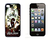 Lebron James NBA Sport Cool iPhone 5 Case Black Designer Shell Hard Case Cover Protector Gift Idea