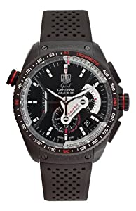 Tag Heuer Grand Carrera Mens Automatic Chronograph Watch CAV5185.FT6020