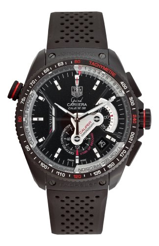 TAG Heuer Grand Carrera Calibre 36 Mens Watch CAV5185.FT6020