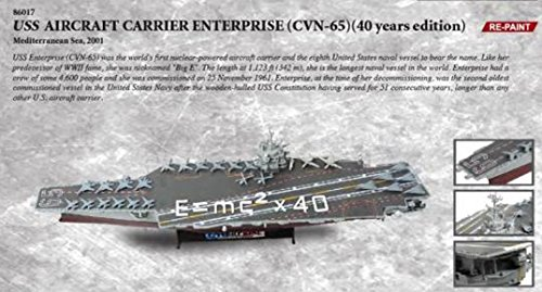 Forces of Valor USS Aircraft Carrier Enterprise CVN-65 40 Year Edition - 1700 Scale