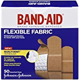 Band-Aid Flexible Fabric Assorted Adhesive Bandages Family Pack