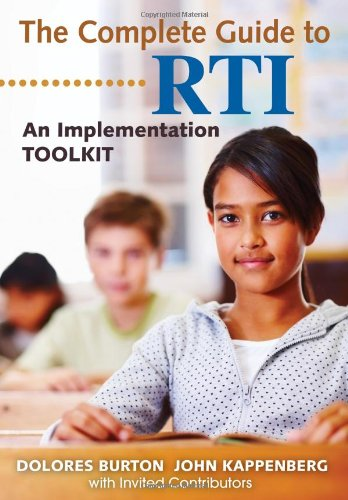 The Complete Guide To Rti: An Implementation Toolkit front-1064000