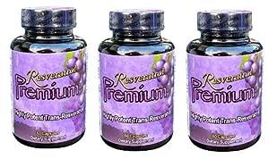 3 months 1000 mg Resveratrol Premium