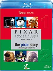 ピクサー・ショート・フィルム Vol.1&2+ピクサー・ストーリー ブルーレイ3枚組 (期間限定) [Blu-ray]