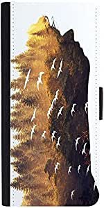 Snoogg Forest In A Silhouette 2631 Designer Protective Phone Flip Case Cover For Micromax Canvas Juice 2