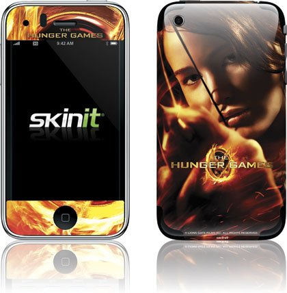 Skinit The Hunger Game -Katniss Bow & Arrow Vinyl Skin for Apple iPhone 3G / 3GS