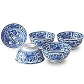 有田焼 軽い器 芙蓉手(VOC) 軽々茶碗セット ama-739180
