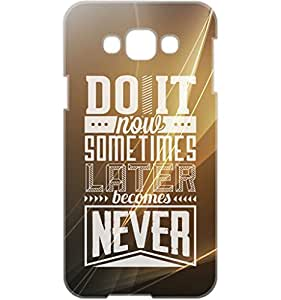 a AND b Designer Printed Mobile Back Cover / Back Case For Samsung Galaxy E7 (SG_E7_3D_2924)