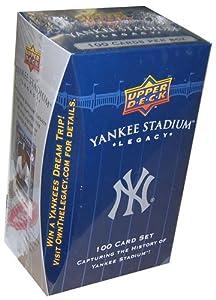 New York Yankees 2008 Upper Deck Yankee Stadium Box Sets by Upper Deck