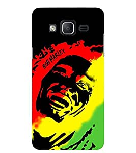 Evaluze BOB MARLEY Printed Back Cover for SAMSUNG GALAXY ON5 2015