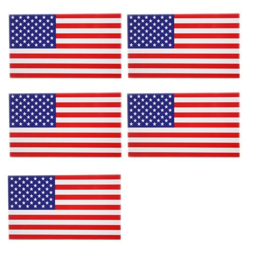 "5 American Flag Usa Extra Strong Magnets 11.5"" X 6.5"""