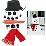 Evelots My Very Own Snowman Kit - Perfect For The Holidays, Make Your Own