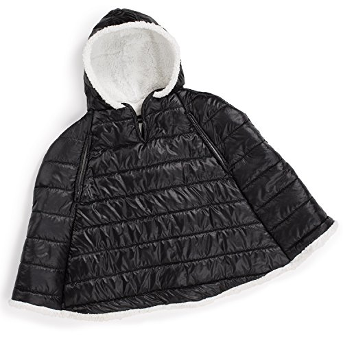 Summer Infant Car Seat Coat and Poncho, Sherpa Puffer - 1