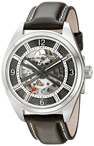 [ハミルトン]HAMILTON 腕時計 Khaki Field Skeleton(カーキ フィールド スケルトン) H72515585 メンズ 【正規輸入品】