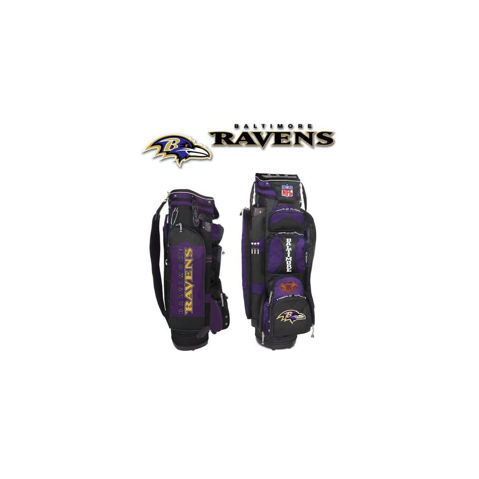 Baltimore Ravens Golf Cart Bag