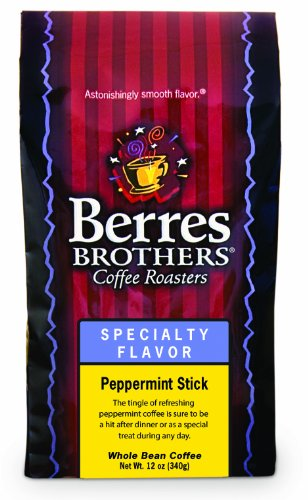 Berres Brothers Peppermint Stick Whole Bean Coffee 12 Oz.