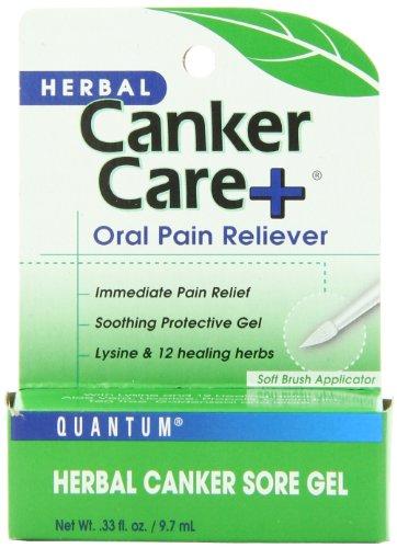 Quantum Canker Care+ Gel 0.33 Oz