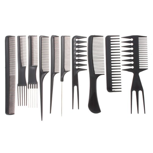 10pcs-professional-salon-hair-styling-hairdressing-hairdresser-barbers-combs-set
