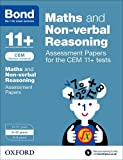 Alison Primrose Bond 11+: Maths and Non-verbal Reasoning: Assessment Papers for CEM: 9-10 years