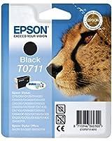 Epson T0711 Cartouche d'encre d'origine DURABrite Ultra Noir