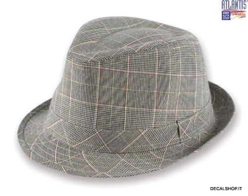 glenfield-tg-l-xl-trand-trilby-fedora-cappello-basco-chapeaux-caps-uomo-donna-unisex