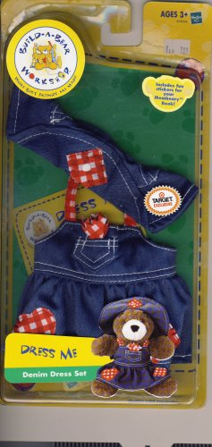 Build-A-Bear Workshop Dress Me: Denim Dress Set